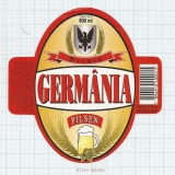 BRAZIL - Cervejaria Germânia Vinhedo (SP) - GERMANIA Pilsen - beer label
