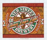 US - Micro,Water Street Brewery Delafield, WI - Honey Lager Light - beer label