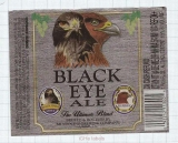 US - Micro, Mendocino Brewing Co. Ukiah - BLACK EYE ALE - beer label
