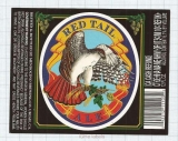 US - Micro, Mendocino Brewing Co. Ukiah - RED TAIL ALE - beer label