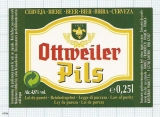 France - Saverne, Ottweiler Pils - beer label