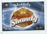 France - Saint Omar, SHANDY - beer label