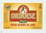 France - Saint Omer - ORBOISE, PILS Biere Blonde - beer label