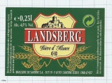 France - Saverne, Landsberg (castle) - beer label