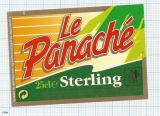 France - LA PANACHE, STERLING  - beer label