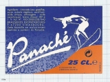 France - Strasbourg, Kronenbourg - PANACHE (woman, sport) - beer label