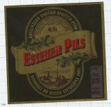 CROATIA (YUGOSLAVIA) - Osijek, ESSEKER PILS - beer label