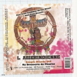 France - Micro, Ydes, Br. de Fleurac - L AMERINDIENNE Simple IPA - beer label