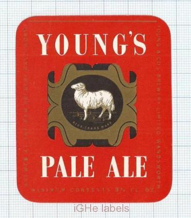 ENGLAND (UK) - Young & Co Brew Wandsworth - PALE ALE - beer label