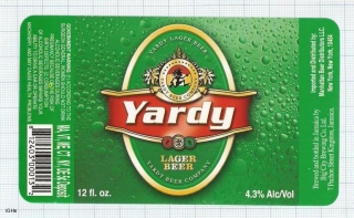 JAMAICA - Big City Brew Co Kingston - YARDI - beer label
