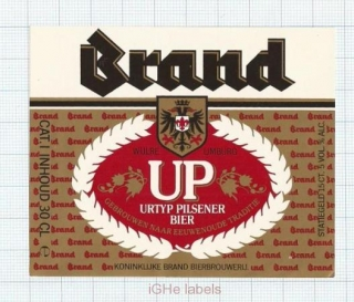 HOLLAND - Brand Bierbrouwerij Wijlre - UP - beer label