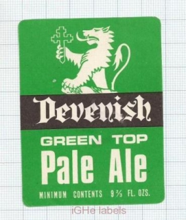 ENGLAND (UK) - Davenish & Co Brew - GREEN TOP PALE ALE - beer label
