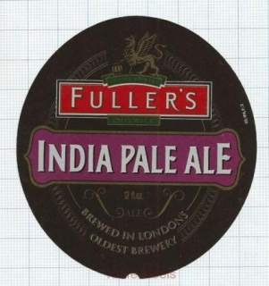 ENGLAND (UK) - Fuller's London - INDIA PALE ALE - beer label