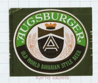 US - Jos.Huber Brew Co Monroe WI - AUGSBURGER - beer label