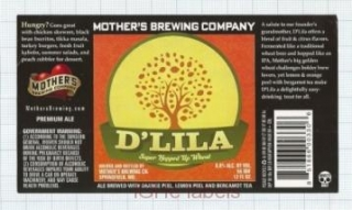 US - Micro, Mother's Brew Co Springfield, MO - LILA - beer label