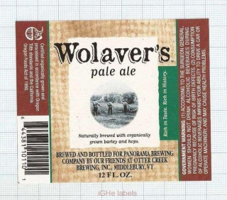US - Micro,Panorama Brew Co - Wolavers Pale Ale - beer label
