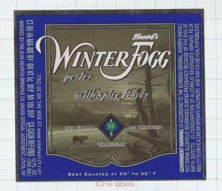 US - Olde Heurich Brewing Co - WINTER FOGG christmas - beer label
