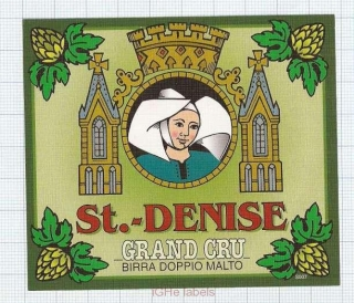 BELGIUM - Micro, Brouwerij Sterkens Meer - St.Denise Grand Cru woman- beer label