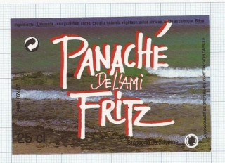 France - PANACHE DeL'aMi FRITZ - beer label