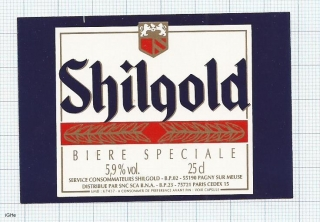 France - Shilgold, Biere speciale PARIS - beer label