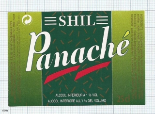 France - Longjumeau, SHIL, PANACHE - beer label