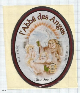 France - Micro, Mare Nostrum, L'Abbé des Anges - beer label